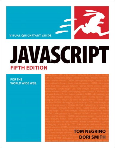 9780321423344: JavaScript for the World Wide Web: Visual Quickstart Guide