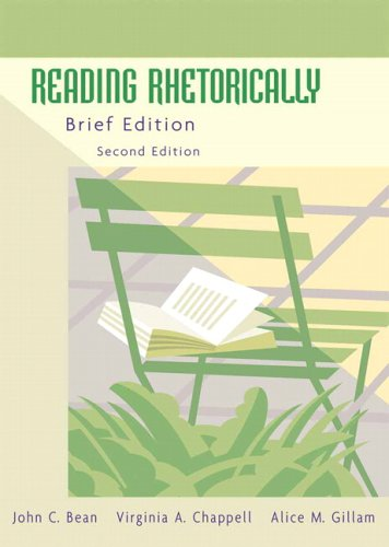 9780321424273: Reading Rhetorically, Brief Edition (2nd Edition)