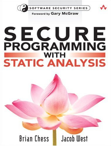 9780321424778: Secure Programming with Static Analysis