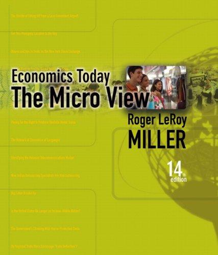9780321425065: Economics Today: The Micro View (14th Edition)