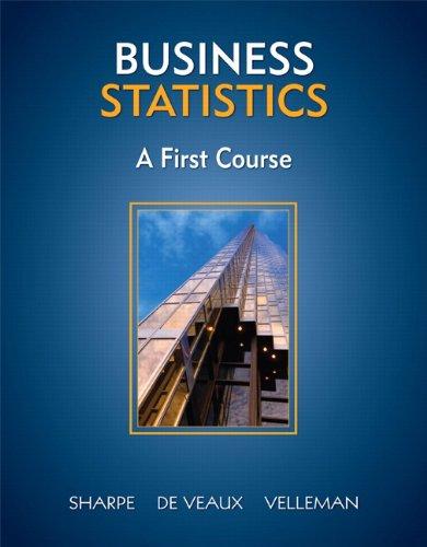 9780321426581: Business Statistics: A First Course