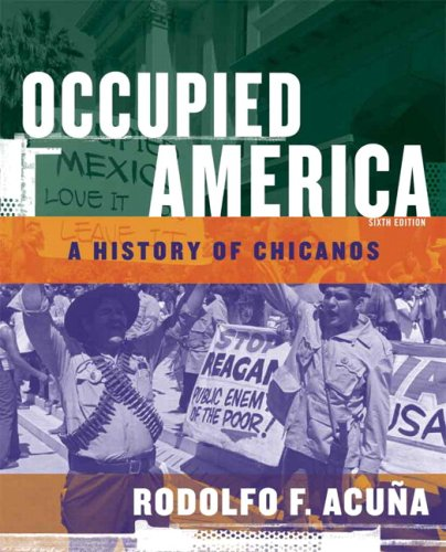 9780321427380: Occupied America: A History of Chicanos