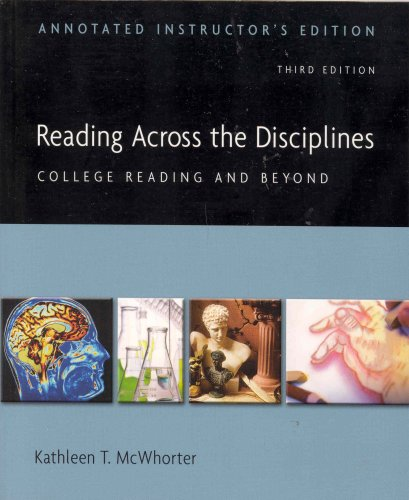 9780321431486: Reading Across the Disciplines - Annotated Instructor's Edition