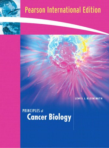 9780321432841: Principles of Cancer Biology: International Edition
