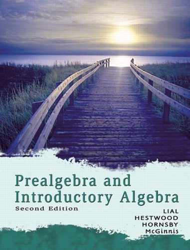 9780321433466: Prealgebra and Introductory Algebra (2nd Edition)