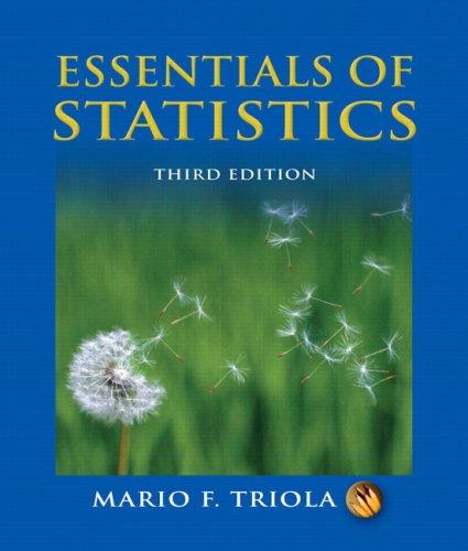 9780321434258: Essentials of Statistics (3rd Edition)