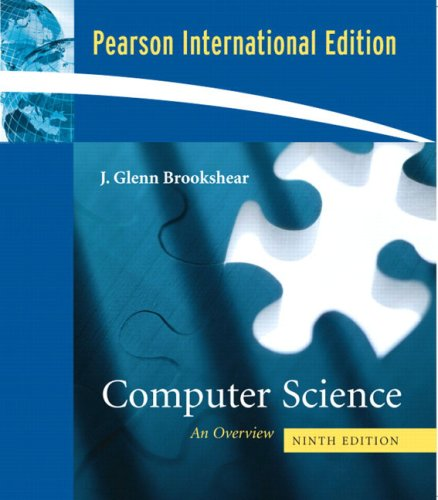 9780321434456: Computer Science: An Overview: International Edition