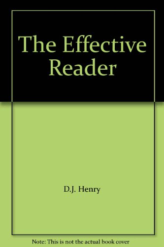 9780321434487: The Effective Reader