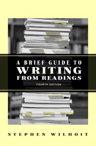 9780321435088: A Brief Guide to Writing from Readings