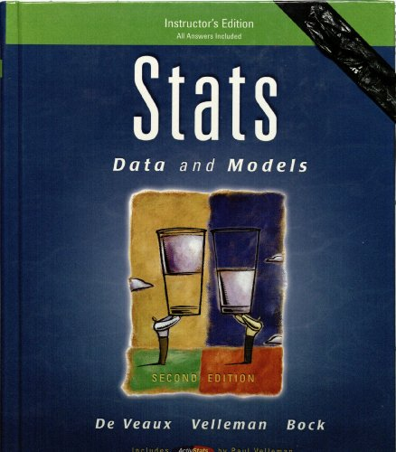 9780321435934: Stats: Data and Models (Instructor's Edition)