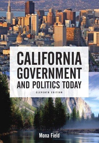9780321436542: California Government and Politics Today (11th Edition)