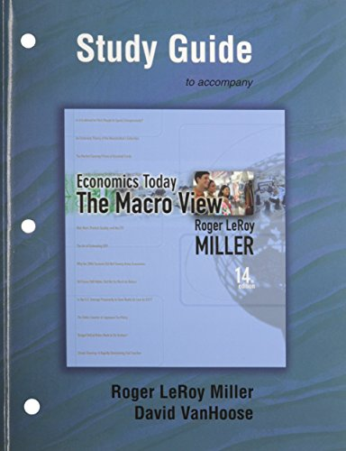 9780321437280: Study Guide for Economics Today