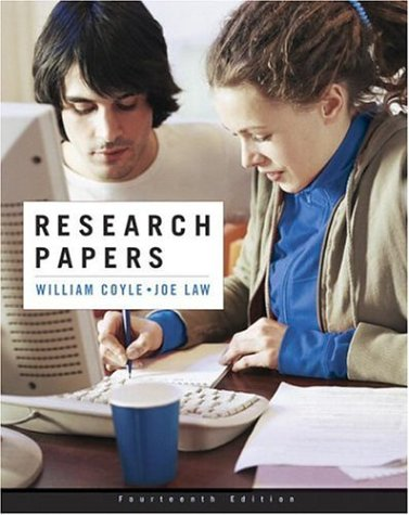 9780321438522: Research Papers (14th Edition)