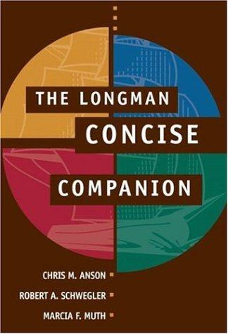 9780321439000: The Longman Concise Companion