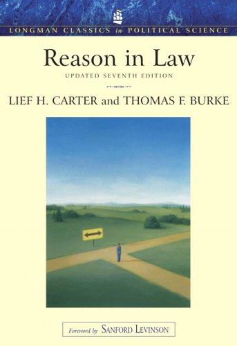 9780321439420: Reason in Law Update, Longman Classics Edition (7th Edition)