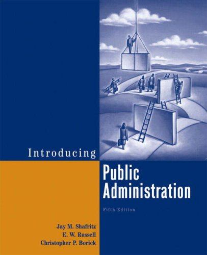9780321439437: Introducing Public Administration (5th Edition)