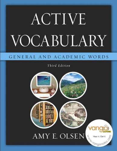9780321439512: Active Vocabulary: General and Academic Words (3rd Edition)
