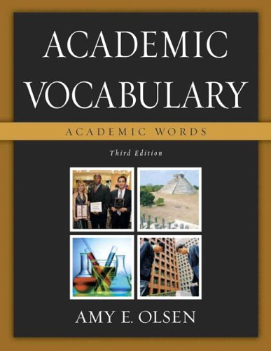 9780321439529: Academic Vocabulary: Academic Words (3rd Edition)