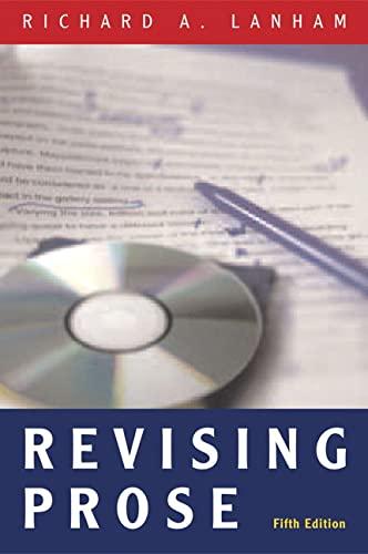 9780321441690: Revising Prose (5th Edition)