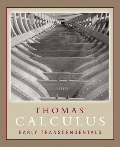 9780321441980: Thomas' Calculus Early Transcendentals Part One (Single Variable, Chs. 1-11) Paperback Version (11th Edition)