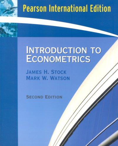 9780321442536: Introduction to Econometrics