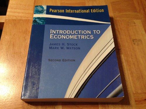 Introduction To Econometrics Watson Pdf