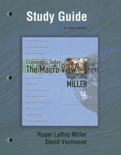 9780321442673: Study Guide for Economics Today: The Macro View