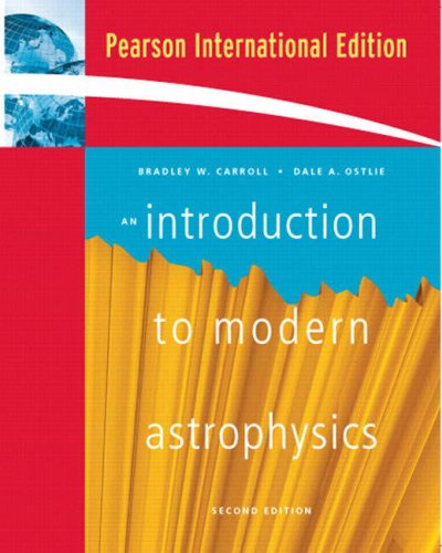 9780321442840: An Introduction to Modern Astrophysics: International Edition