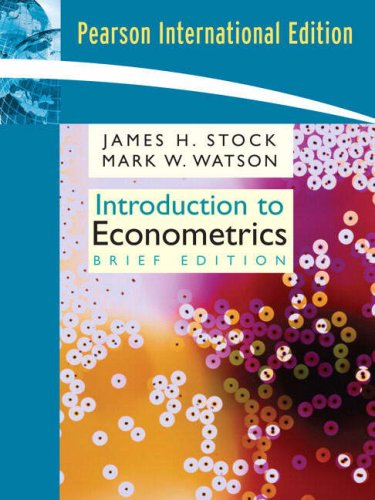 9780321442963: Introduction to Econometrics, Brief Edition: International Edition