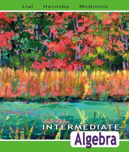 9780321443625: Intermediate Algebra, 10th Edition