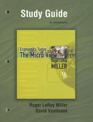 9780321443861: Study Guide for Economics Today: The Micro View