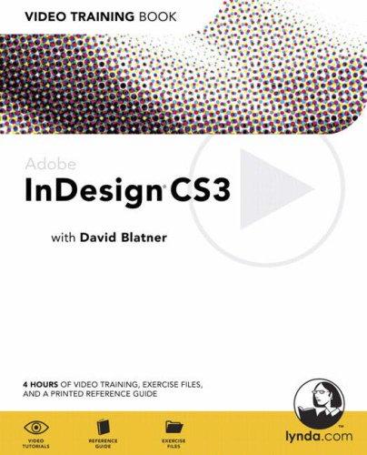 9780321445483: Adobe InDesign CS3: Video Training Book