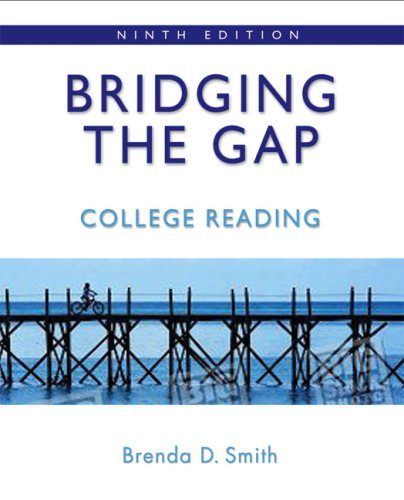9780321446022: Bridging the Gap: College Reading (9th Edition)
