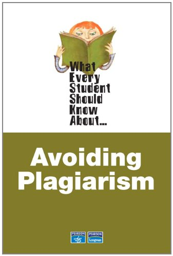 9780321446893: What Every Student Should Know About Avoiding Plagiarism