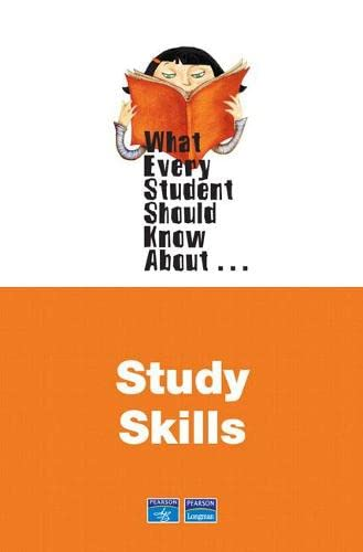 9780321447364: What Every Student Should Know About Study Skills