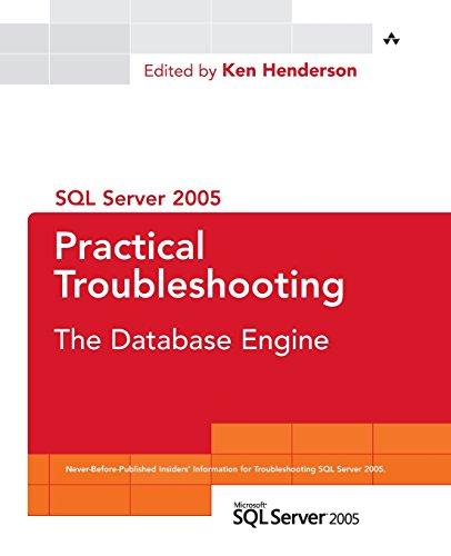 9780321447746: SQL Server 2005 Practical Troubleshooting: The Database Engine