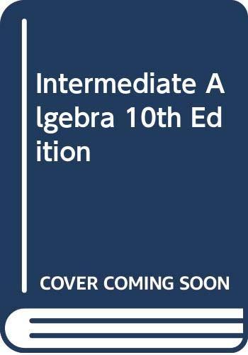 9780321447838: Intermediate Algebra, 10th Edition