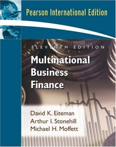 9780321449566: Multinational Business Finance: International Edition