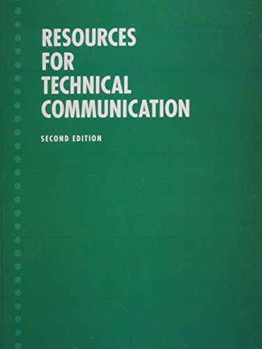9780321450814: Resources for Technical Communication (Valuepack item only) (2nd Edition)