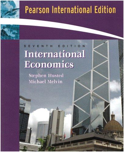International Economics: International Edition: Husted, Steven &