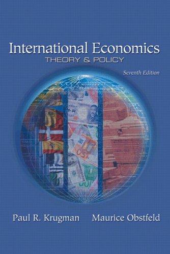 International Economics: Theory and Policy plus MyEconLab: Paul R. Krugman,