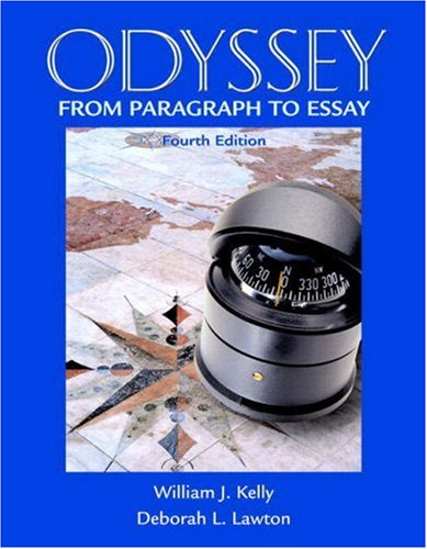 9780321451576: Odyssey: From Paragraph to Essay (with MyWritingLab) (4th Edition) (Kelly/Lawton Developmental Writing)