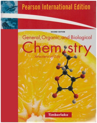9780321451606: General, Organic and Biological Chemistry: Structures of Life with Student Access Kit for MasteringGOBChemistry (TM): International Edition