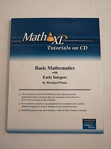 9780321454126: Basic Mathematics with Early Integers