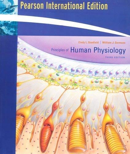 9780321454287: Principles of Human Physiology