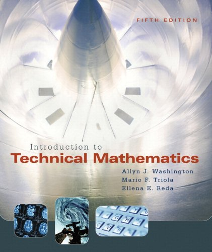 9780321455932: Introduction to Technical Mathematics with MyMathLab Student Access Kit (5th Edition)