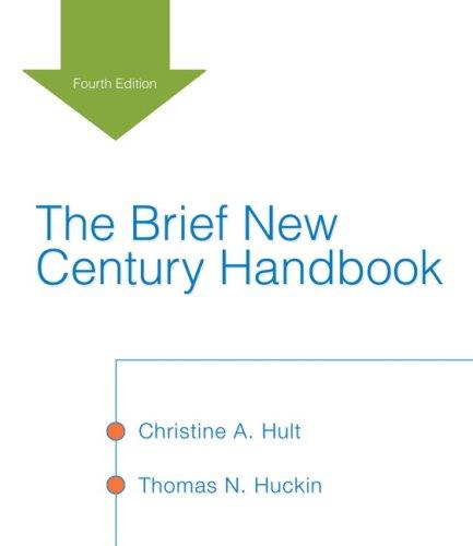 9780321456380: Brief New Century Handbook, The (4th Edition) (MyCompLab Series)
