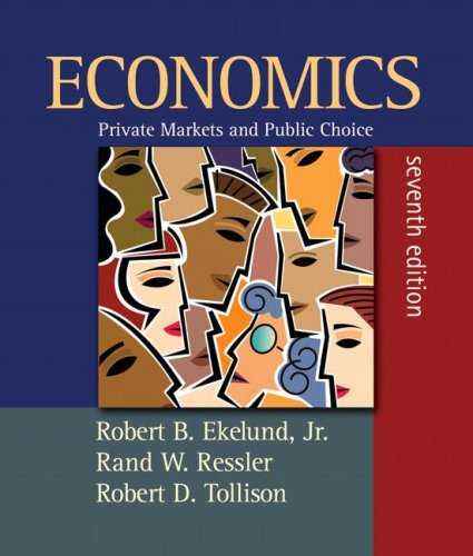9780321457790: Economics: Private Markets and Public Choice plus MyEconLab plus eBook 2-semester Student Access Kit (7th Edition)