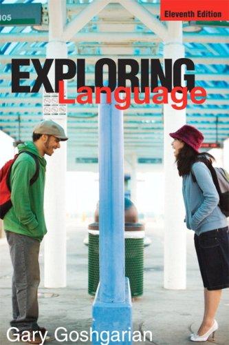 9780321457974: Exploring Language (11th Edition)