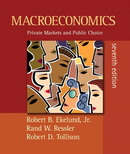 9780321459688: Macroeconomics: Private Markets and Public Choice plus MyEconLab plus eBook 1-semester Student Access Kit (7th Edition)